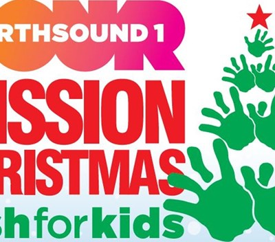 We're supporting Mission Christmas!