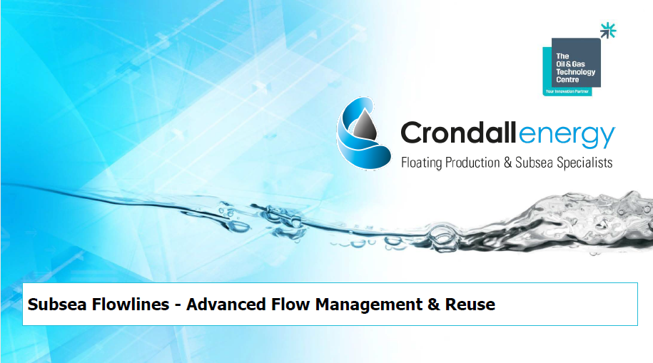 Crondall Energy - 30th Round Technology Forum