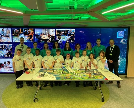Good luck to our inspiring Supreme Lego League Team!